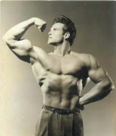 Культуризм до появления стероидов - какой он был