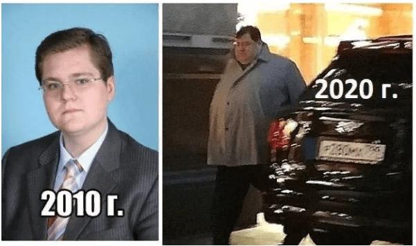 Игорь - младший сын генпрокурора Юрия Чайки. Что с его весом? Уже 200 кг?