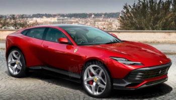 Первый кроссовер от Ferrari: дизайн и характеристики Purosangue