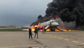 Пилот Superjet, сгоревшего год назад в Шереметьево, дал первое интервью