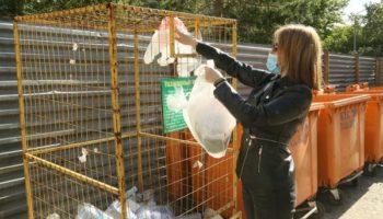 Костанайская фирма начнет производить плитку и садовые лавки из переработанного пластика