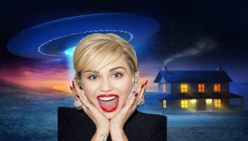 Майли Сайрус заявила, что за ней гнался НЛО